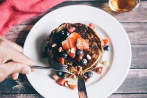 HDYTI Plantain pancakes, dip in!