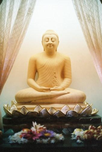 Temple of the Sacred Tooth, Buddha   Kandy