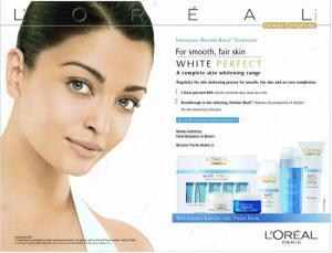 Loreal skin lightening
