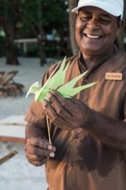 Maldives Kurumba Romance Palm Bird