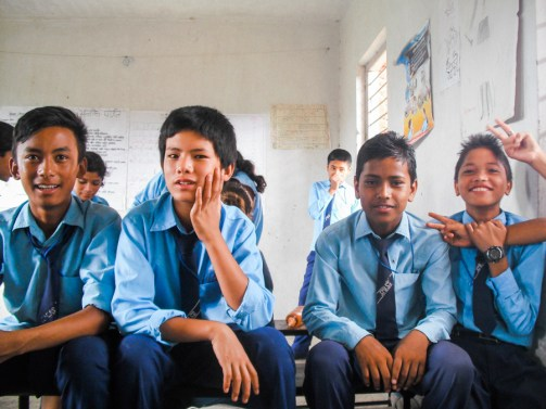 Nepal Kathmandu Children