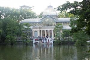 Palacio de Cristal, Summer Buen Retiro Park Madrid