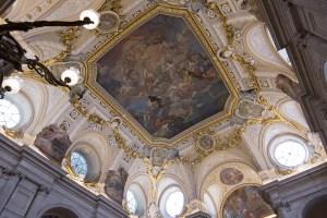 Frescoes Palacio Real de Madrid