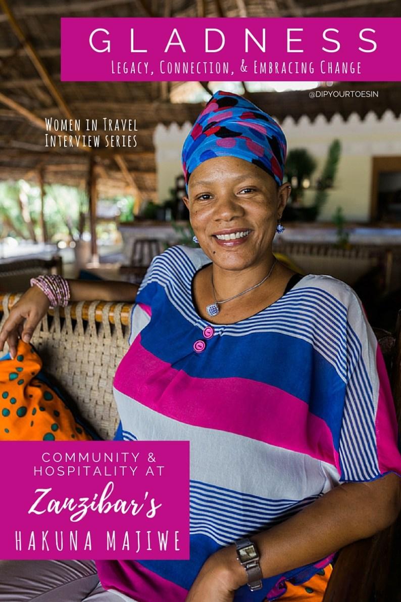 Gladness WIT Interview at Hakuna Majiwe | @dipyourtoesin
