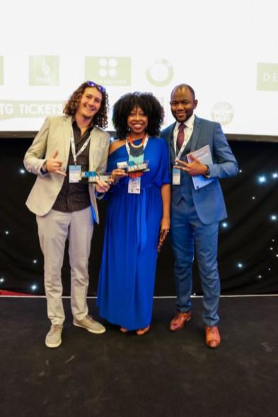 UKBA16 Award Ceremony Travel Category with Chris Stevens