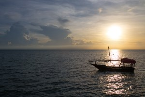 Sunset & dhow at Zanzi Resort, Zanzibar | @dipyourtoesin