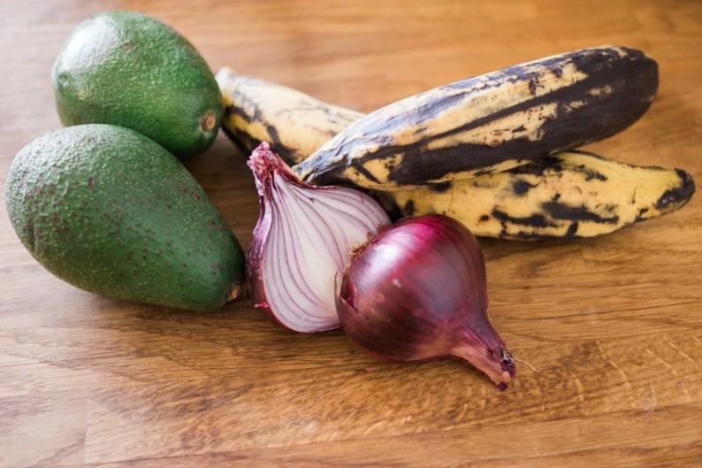 Plantain Bites Ingredients | @dipyourtoesin