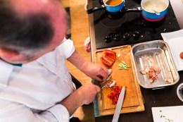 Lobster minestrone with rigatoni   École du Goût   @dipyourtoesin