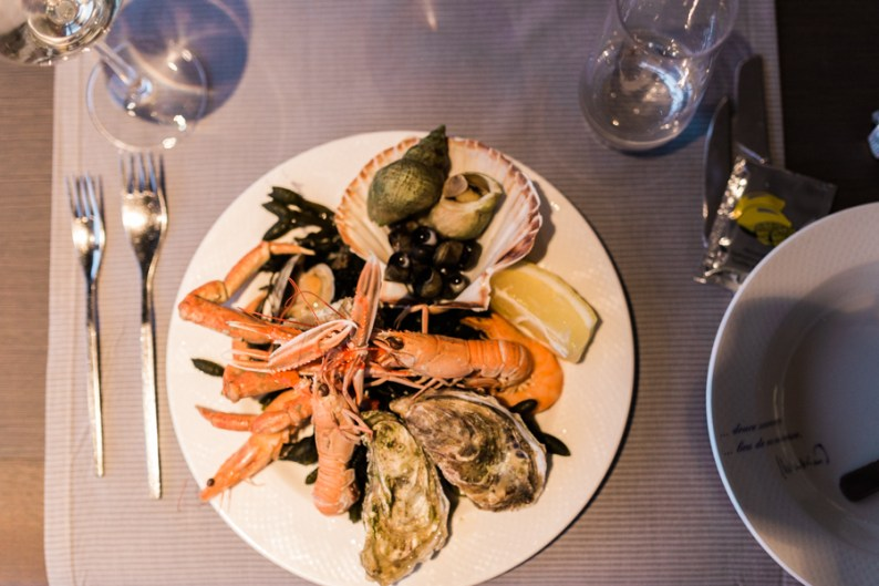 Seafood | Restaurant Le 5 | Hotel France et Chateaubriand | Saint-Malo