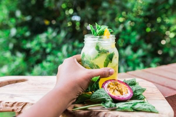 Mango-Passion Fruit Mojito Recipe   @dipyourtoesin