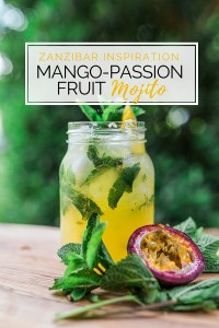 Mango-Passion Fruit Mojito Recipe | @dipyourtoesin