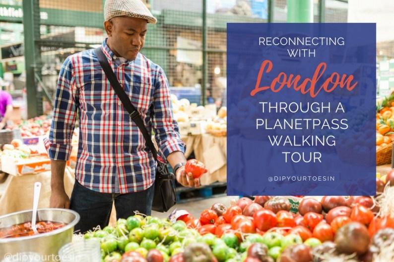 PlanetPass London Walking Tour Foodies at Borough Market