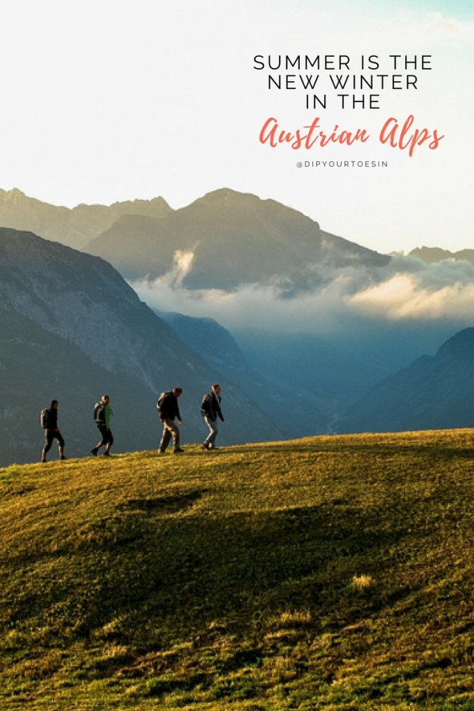 Hiking through Arlberg, Austria Alps, Alternative summer destinations