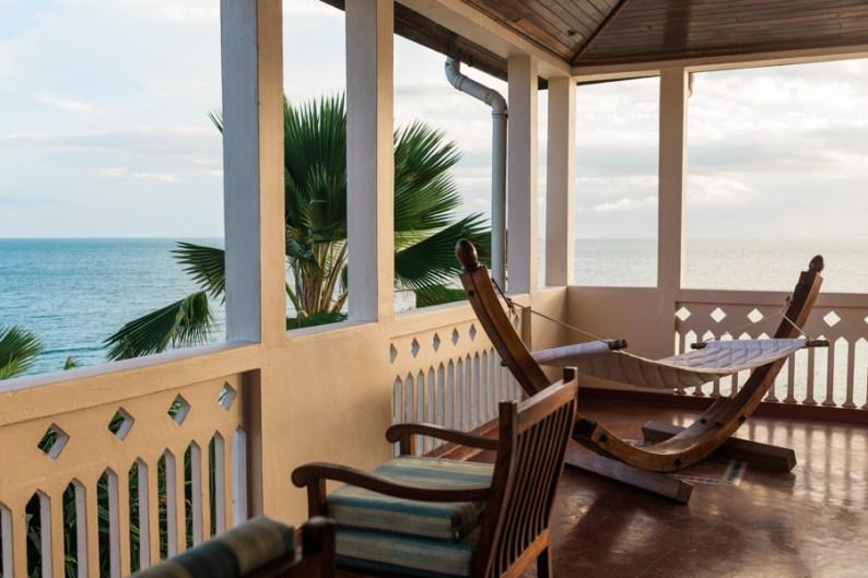 Balcony at Zanzibar Serena Hotel