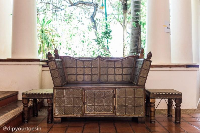 Original artefacts at Zanzibar Serena Hotel