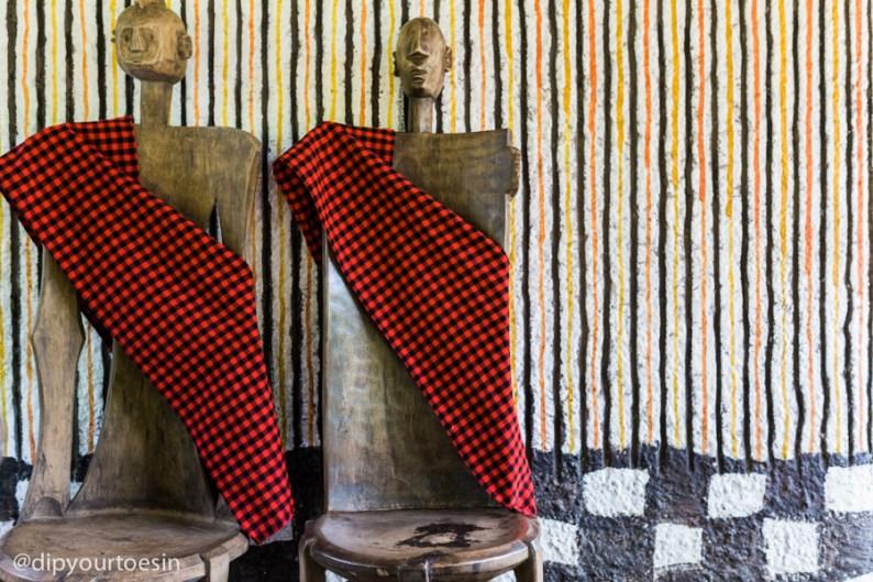 Swahili theme art Zanzi Resort Zanzibar