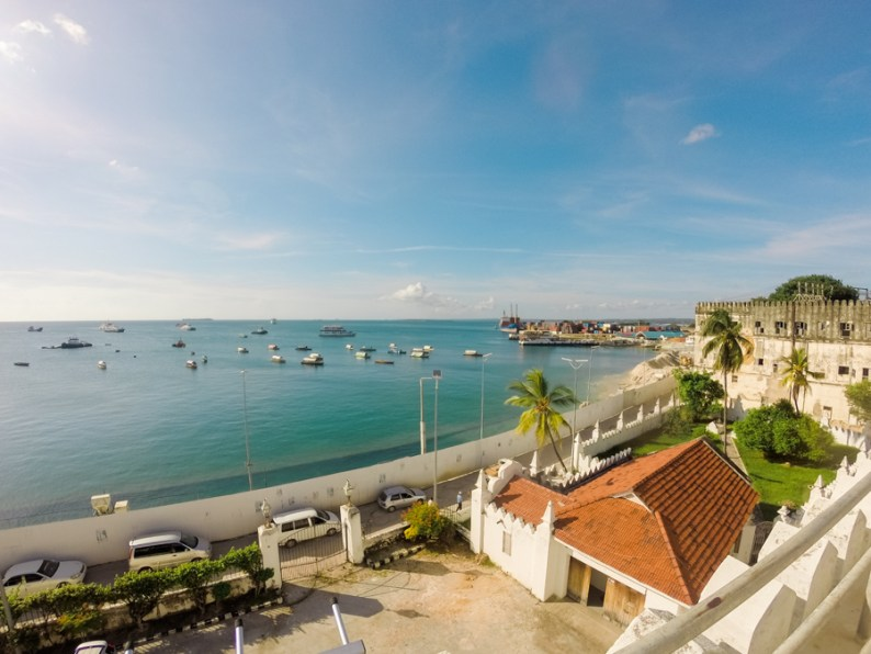 View from Palace by the Sea, Stone Town, Zanzibar
