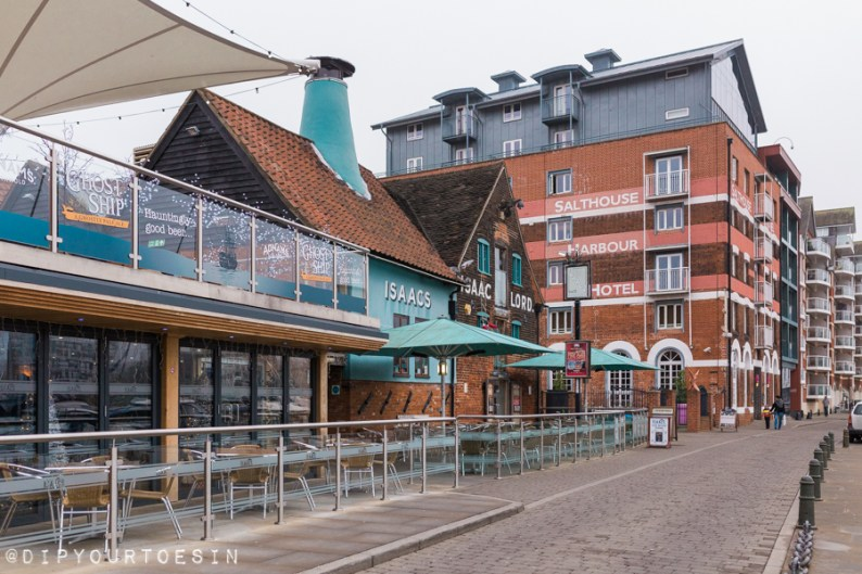 Salthouse Harbour Hotel, Ipswich