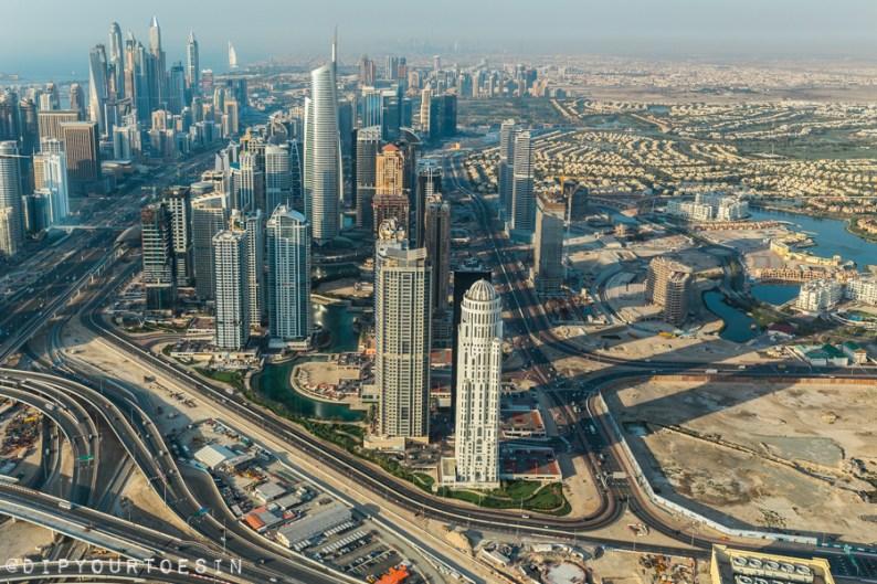 Dubai Sites from Seawings