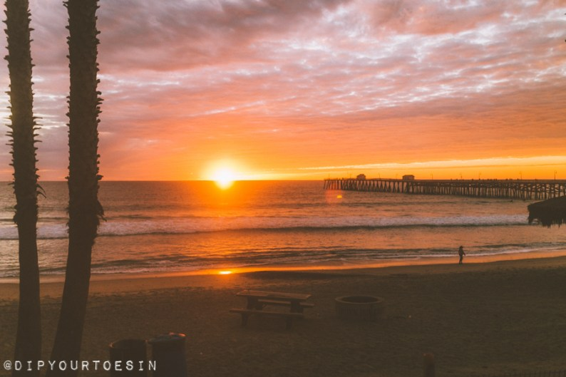 View from Pacific Coast Surfliner train, en Route to Los Angeles via Amtrak | Los Angeles Itinerary