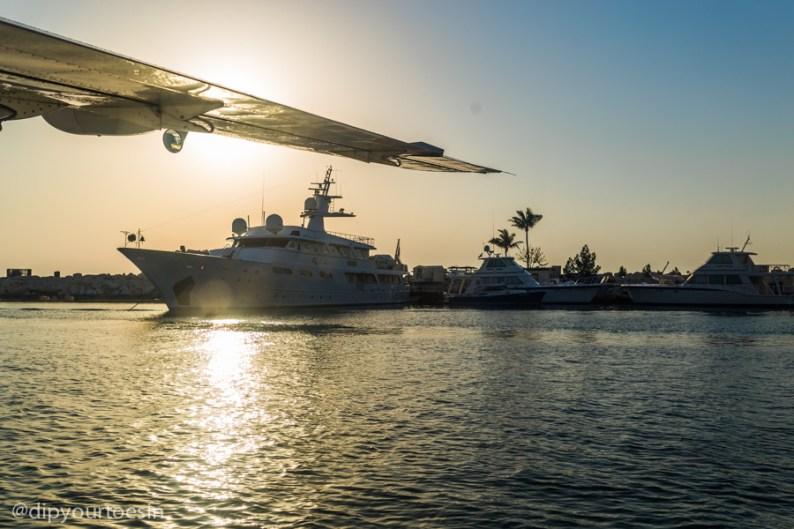Seawings Seaplane landing