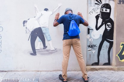 Escif and David de Limón | Walking Tour of Street Art in Valencia, Spain