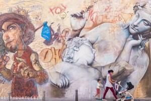 Pichi & Avo | Intramurs | Walking Tour of Street Art in Valencia, Spain
