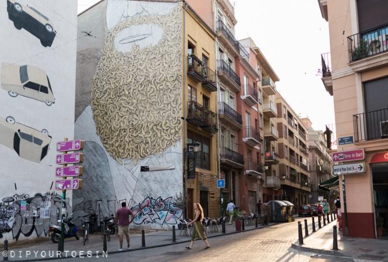 Blu 's Moses | Valencia Urban Adventures | Street Art