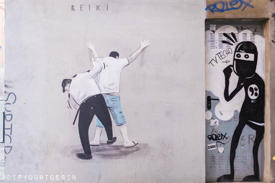 Escif and David de Limón | Walking Tour of Street Art in Valencia, Spain