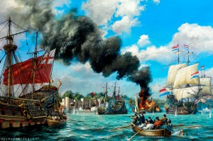 The Battle of Medway, Tocht Naar Chatham