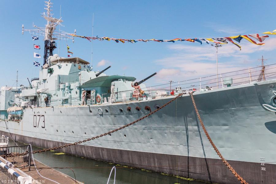 HMS Cavalier, Historic Dockyard Chatham, Ket