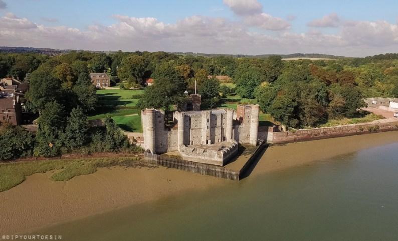 Upnor Castle, Battle of Medway, Chatham, Kent