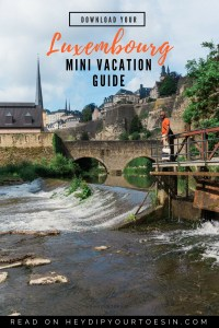 Download our Mini Vacation Travel Guide to Luxembourg