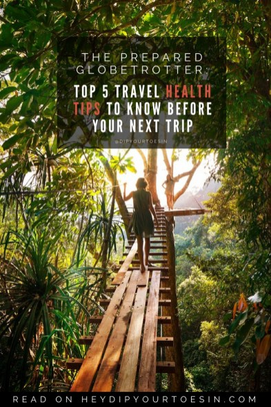 HDYTI travel health advice
