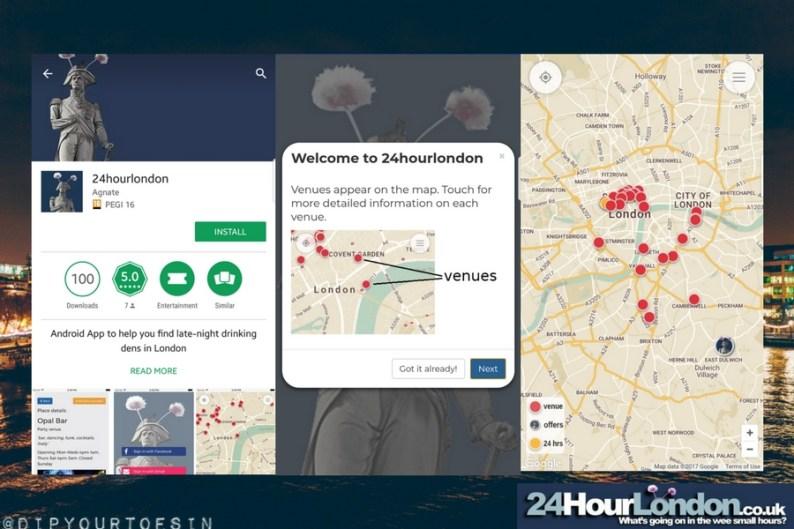Download 24hourlondon app