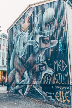 Travel Reykjavik Iceland, Street Art, Walking Tour