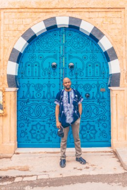 Doors at Sidi Bou Said, Tunis