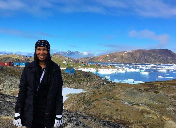 Woni Spotts Greenland | First Black Woman to Travel To Every Country in the World?