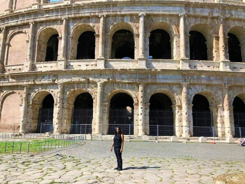 Woni Spotts Italy | First Black Woman to Travel To Every Country in the World