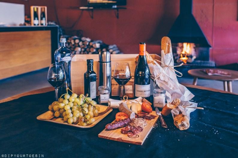 Local produce and wine tasting at Terra Remota, Empordà