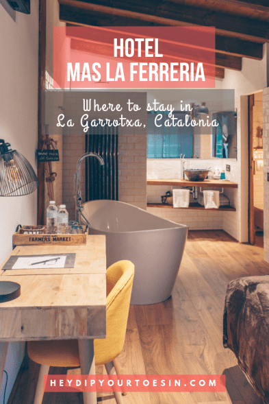 Hotel Mas La Ferreria, Where to stay in La Garrotxa, Catalonia