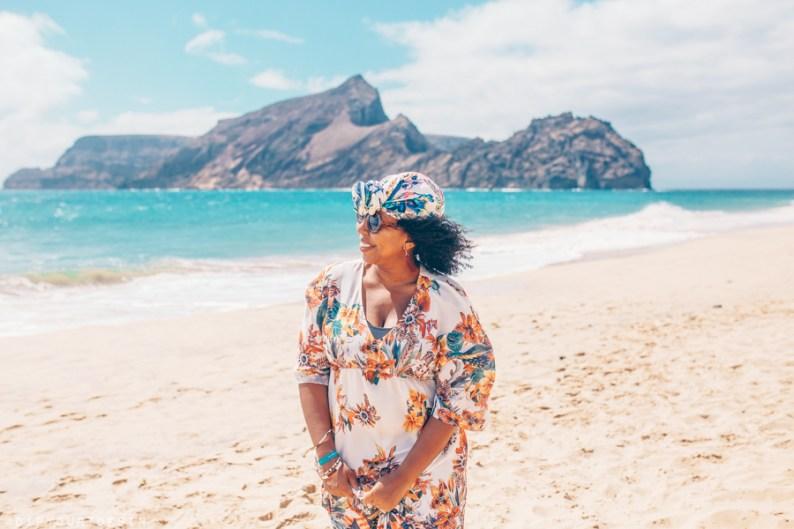 Eulanda at Ponta da Calheta - Calheta Beach - Porto Santo island - Madeira