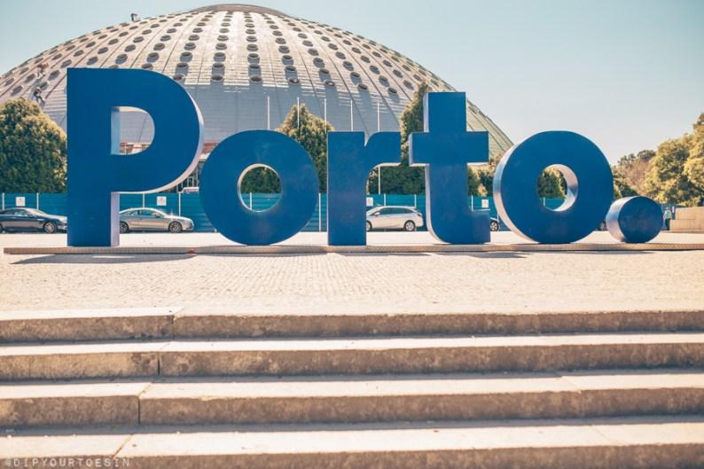 Porto city sign | Visit Porto with TAP Air Portugal