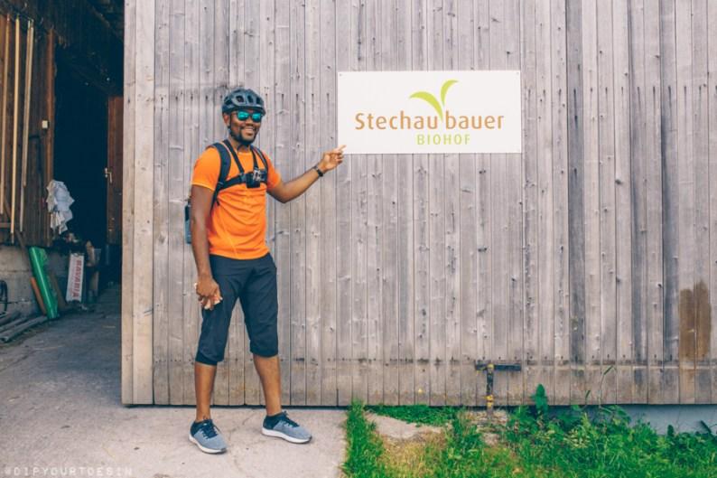 Michaela Haitzmann | Biohof Stechaubauer | Organic Farmers | Cycling in Leogang, Austria