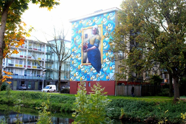 Street Art Tour in Oud West   Old West   Amsterdam   with Street Art Museum Amsterdam
