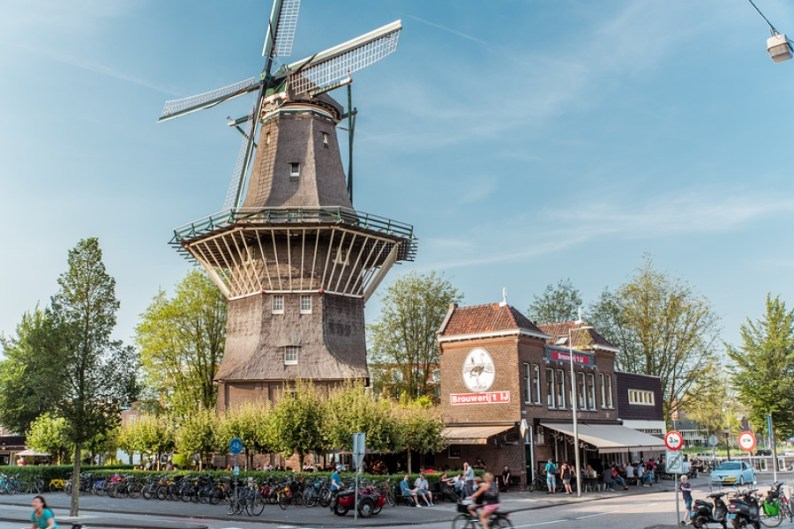View of Brouwerij 't IJ brewery in Amsterdam - Producers of organic blonde and dark beers | An Alternative Visitor Guide to Amsterdam