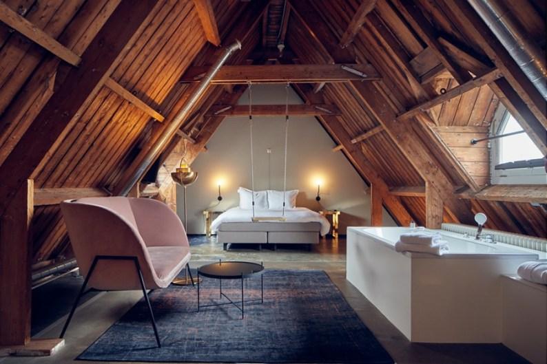 View of room in Lloyd Hotel Amsterdam | Oostelijke Handelskade | An Alternative Visitor Guide to Amsterdam
