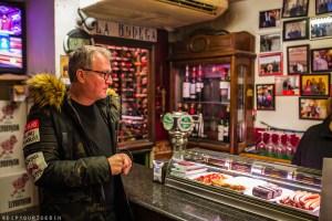 José Ramón Jiménez Berger | pintxos tour | Bar Sebas, Calle del Laurel | Visit La Rioja