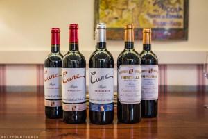 CUNE | CVNE | five wines from Compañia Vinicola del Norte de España, Haro | Visit La Rioja