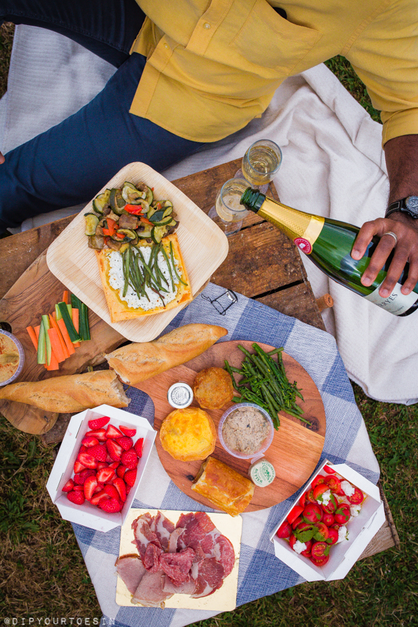 Food and Wine | Picnic in the Vines at Squerryes Wine Estate, Westerham, Kent